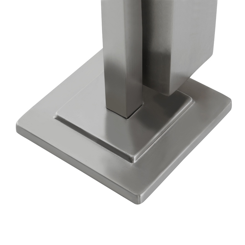 toilet paper holder and toilet brush holder base